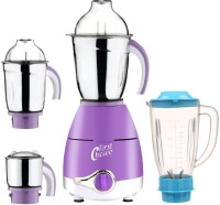 First Choice ABS Plastic LPMG17_226 750 W Juicer Mixer Grinder(Lavender, 4 Jars)