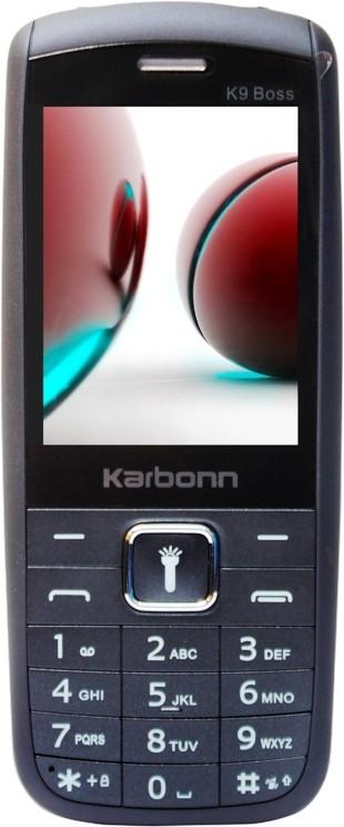 Karbonn K9 Boss(Blue & Black) image