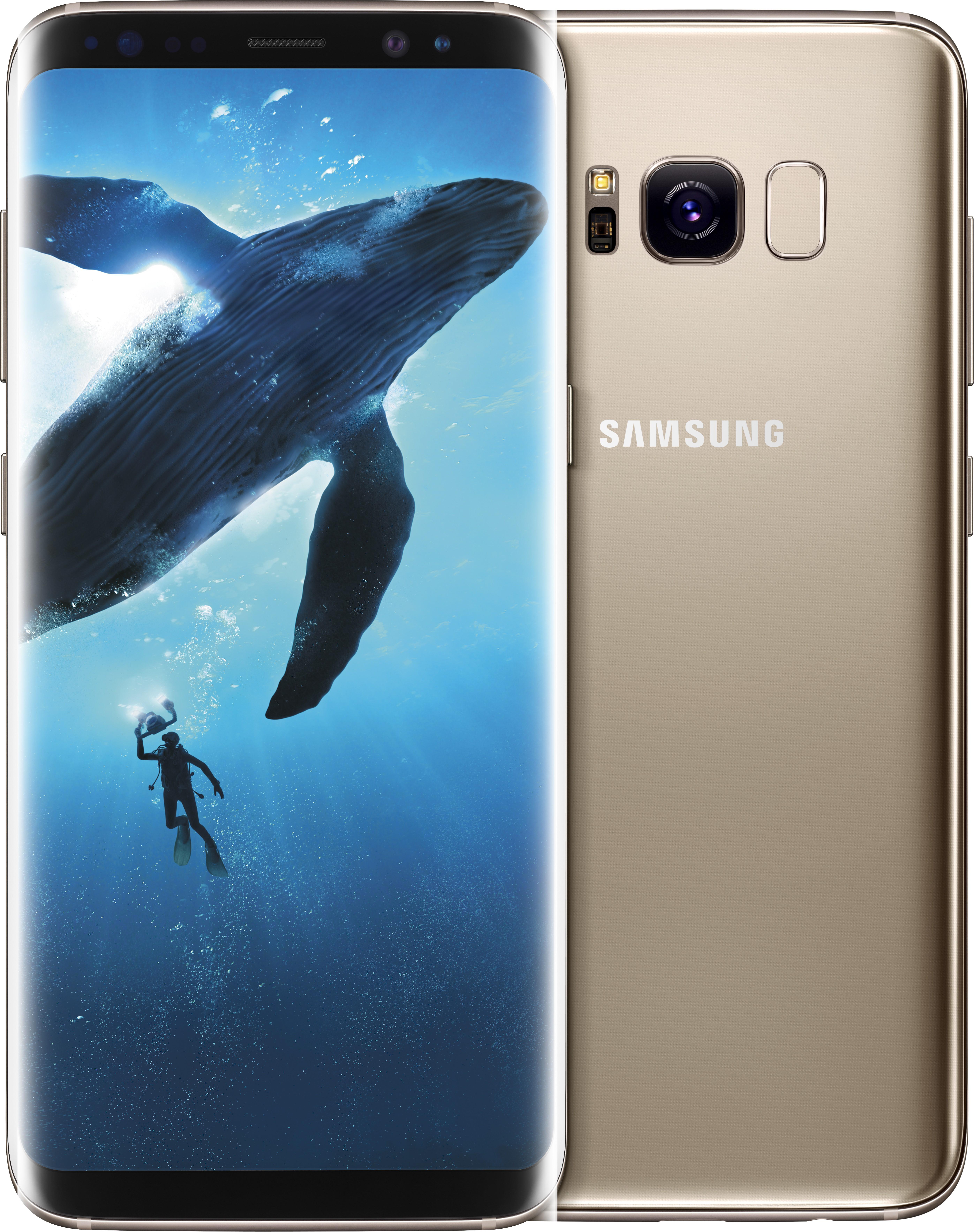 Samsung Galaxy S8 (Maple Gold, 64 GB)(4 GB RAM) image
