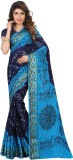 Dealsure Printed Bandhej Banarasi Silk S...