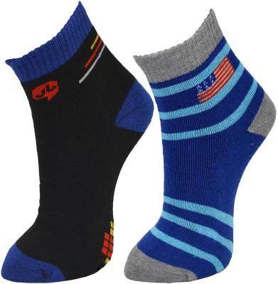 Welwear Mens Ankle Length Socks(Pack of 2)