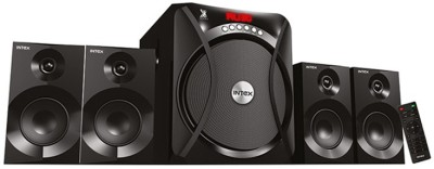 INTEX IT RIDER SUF Bluetooth Laptop/Desktop Speaker(BLACK, 4.1 Channel)