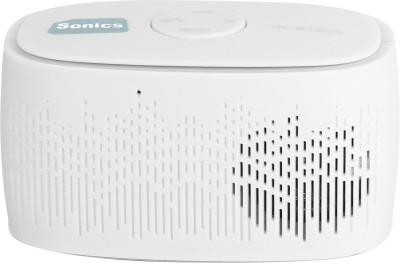 Sonics IN-BT509 Portable Bluetooth Mobile/Tablet Speaker(White, 2.1 Channel)