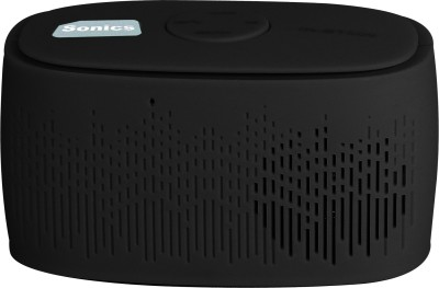 Sonics IN-BT509 Portable Bluetooth Mobile/Tablet Speaker(Black, 2.1 Channel)