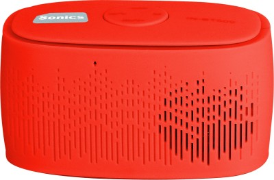 Sonics IN-BT509 Portable Bluetooth Mobile/Tablet Speaker(Red, 2.1 Channel)