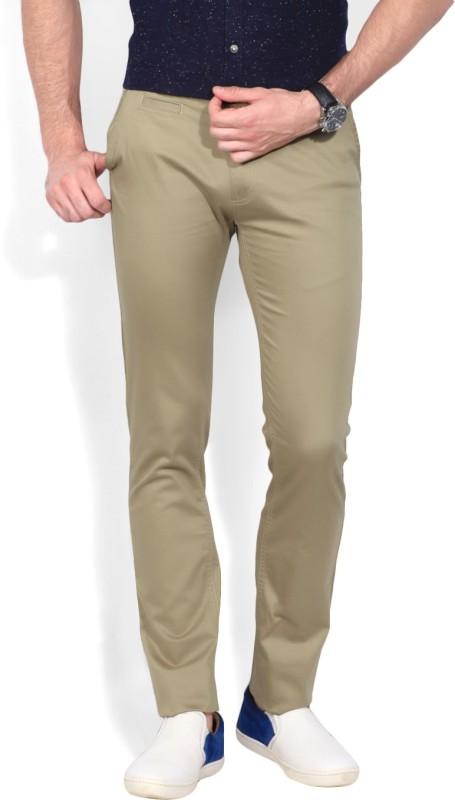 Peter England Slim Fit Men's Trousers