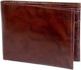 Ruff Men Brown Genuine Leather Wallet (4...