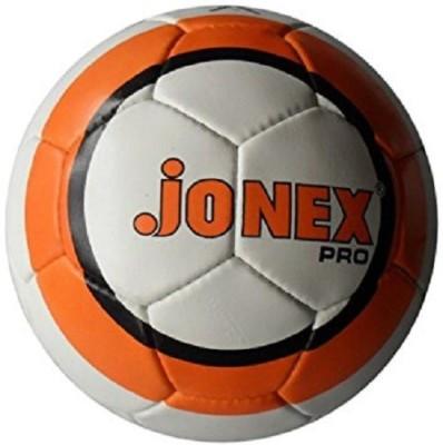 Jonex Pro Football - Size: 5(Pack of 1, White, Orange)