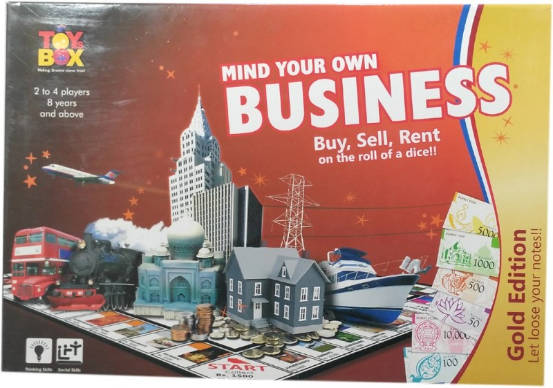 HALO NATION Mind Your Own Business (Golden - Note) - Toybox Board Game