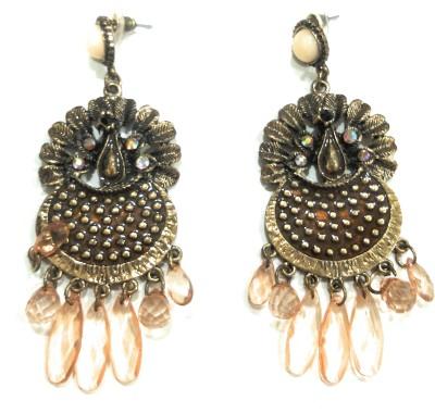 AMARA JEWELLERS INDOWESTERN EARRINGS Brass Drop Earring at flipkart
