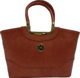 Silver Rose Hand-held Bag (Tan)