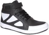 Clerk Boys Velcro Casual Boots (White)