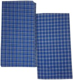 Shopping Store Checkered Blue Lungi
