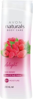 Avon NATURALS REDBERRY HBL(200 ml)
