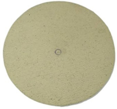 Excel Impex Glass Polishing Felt Disc ( Namada ) dia 18  Thickness- around 1 and 1/4  Bore dia 1 Glass Polisher(5 inch)