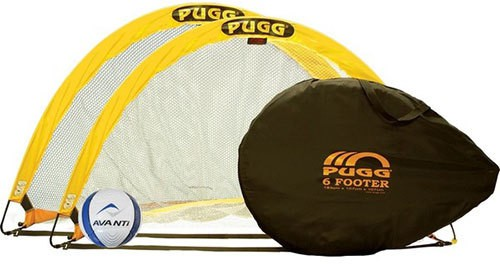 Omtex Nylon, Tarpaulin Pop-up Goal and Target(Yellow, White Cricket, Football)