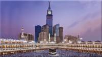 Makkah mosque Makkah World City Kaaba Makkah Al Mukarramah Makkah City Saudi Arabia poster Paper Print