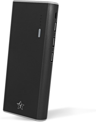 Flipkart SmartBuy 11000 mAh power bank with Free additional 2A Fast Charging cable(Black, Lithium-ion)