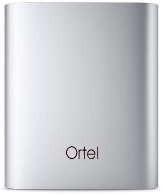 Ortel orla1209 Battery charger 10400 mAh Power Bank(Silver, Lithium-ion)