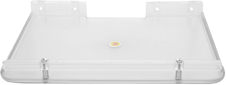 View Shrih Plastic Wall Shelf(Number of Shelves - 1, Clear) Furniture (Shrih)