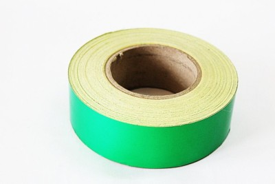 laps of luxury Radium Tape GD395 50.8 mm x 3.65 m Green Reflective Tape(Pack of 1)