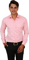 Real Value Formal Shirts (Men's) - Real Value Men's Solid Formal Pink Shirt