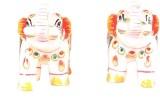 Apkamart Handicraft Marble Elephants Sho...