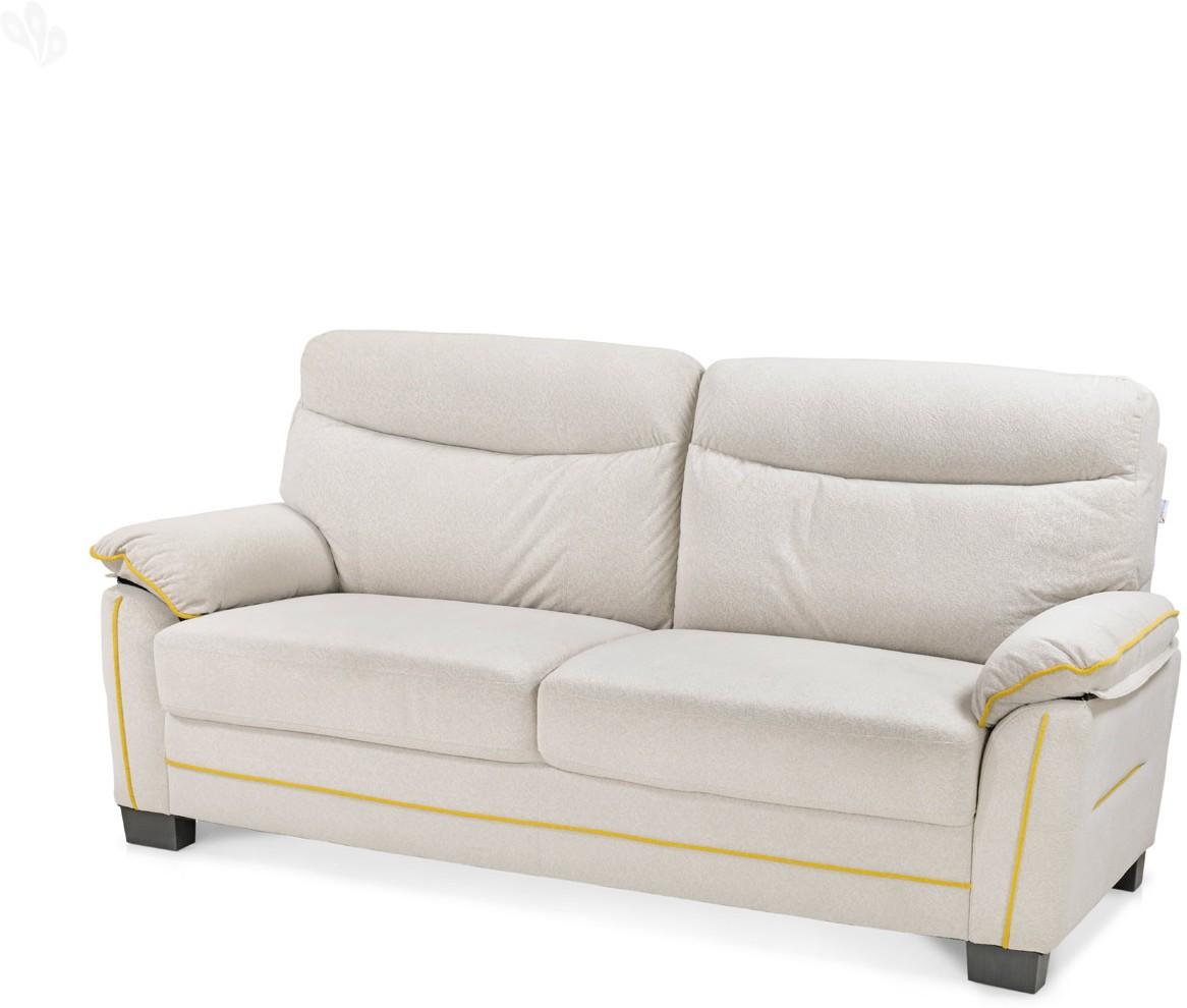View Royal Oak Ivy Solid Wood 3 Seater Standard(Finish Color - Off White) Furniture (RoyalOak)