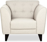 Urban Living Hove Heaven Fabric 1 Seater Standard(Finish Color - Beige)