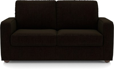 Urban Ladder Apollo Solid Wood 2 + 1 + 1 Dark Earth Sofa Set