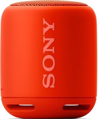 Sony SRS-XB10 Portable Bluetooth Mobile/Tablet Speaker(Orange Red, Mono Channel)