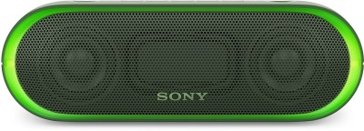Sony SRS-XB20 Portable Bluetooth Mobile/Tablet Speaker(Green, Stereo Channel)