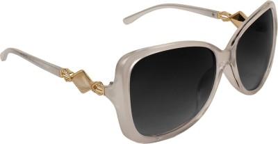 Zyaden SW-378 Over-sized Sunglasses(Black)