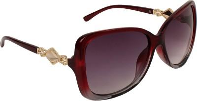 Zyaden SW-377 Over-sized Sunglasses(Black)