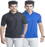 Akaira Solid Men's Polo Neck Multicolor ...