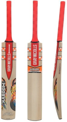 Gray Nicolls Kaboom-Smash Kashmir Willow Cricket Bat(Short Handle, 1180 g)