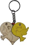 ATS My Heart Keychain for Him Her Girlfr...