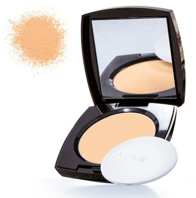 Avon Anew True Color Luminious Presses Powder Compact - 11 g(Fawn)