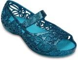 Crocs Girls Slip-on Flats (Blue)