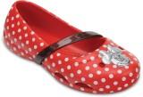 Crocs Girls Slip-on Flats (Red)