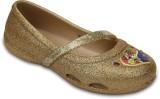 Crocs Girls Slip-on Flats (Gold)