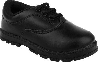 Fuel Boys Lace Formal Boots(Black)