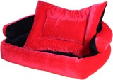 Poofy's Pet Island LRB2 M Pet Bed (Red, ...