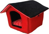 Poofy's Pet Island RBH2 M Pet Bed (Red, ...