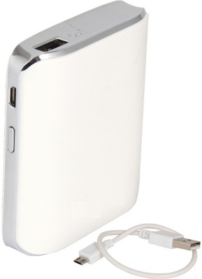 Zootkart SS-2B High Quality Portable Mobile Charger 5200 mAh Power Bank(White, Lithium-ion)