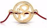 keoti Om Design Religious Rakhi (Gold, R...