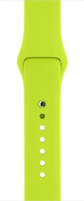 i10 iWatch 42mm Silicon Green Smart Watch Strap(Green)