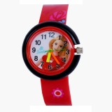 Vitrend Barbie Round Dial Design Red (Ra...