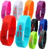 S S TRADERS Ultra Thin Led Watch Unisex ...