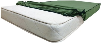 Lithara Elastic Strap Twin Size Mattress Protector(Green)